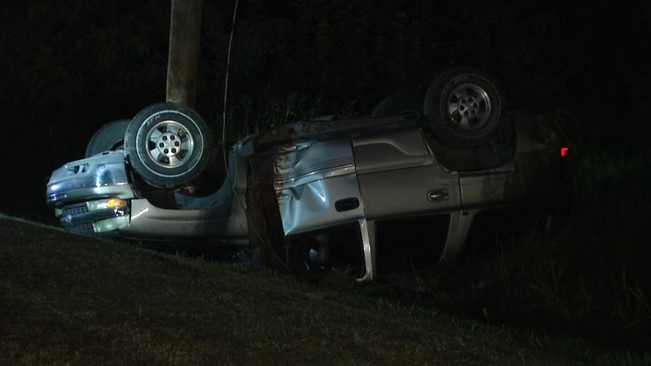 Owasso Teen Walks Away After Crashing SUV