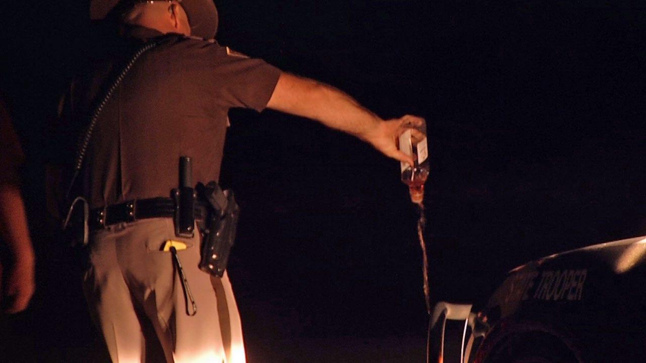 DUI Crash Knocks Out Broken Arrow Power, OHP Says