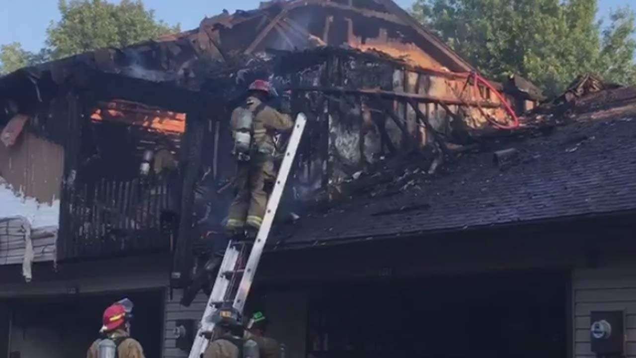 Girl Listed In Serious Condition After Tulsa Condo Fire