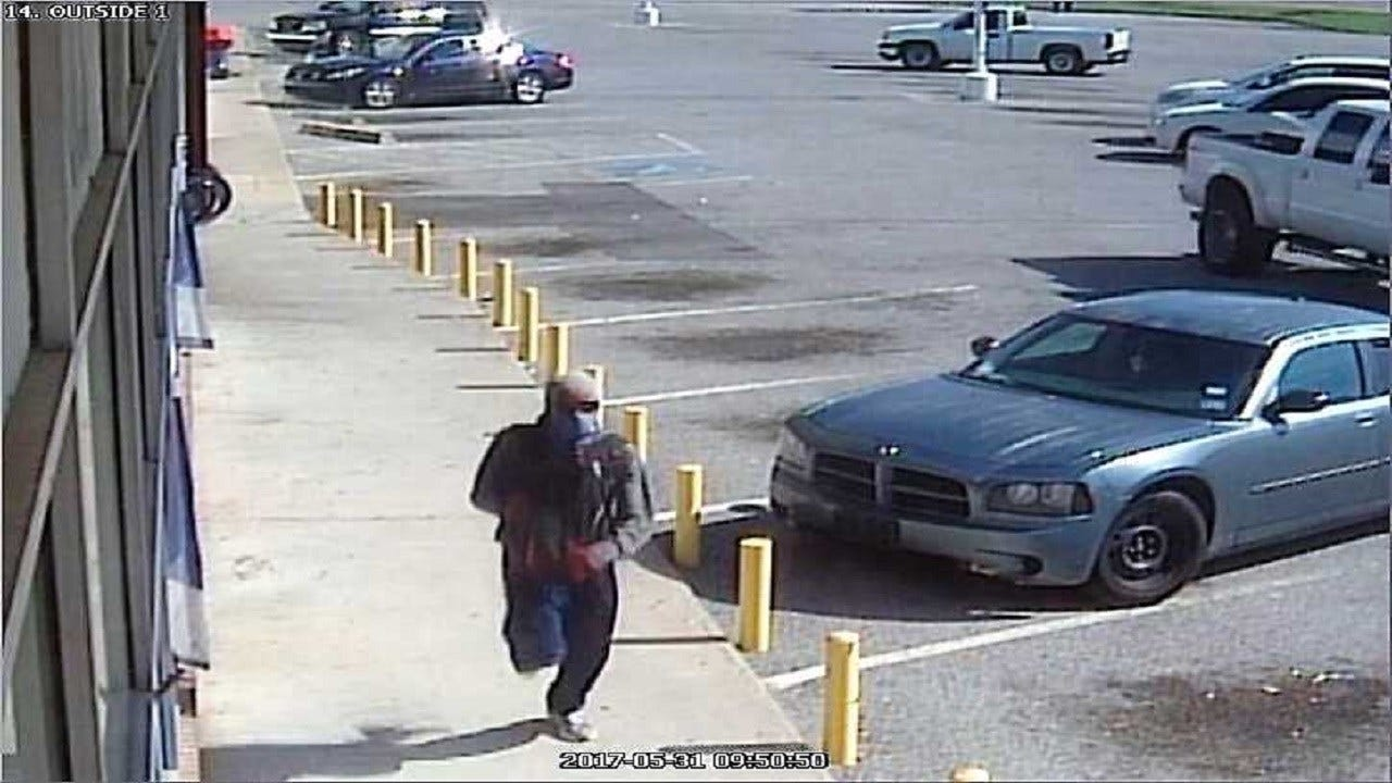 $5,000 Offered To Find Tulsa Pawn Shop Robbery Suspect