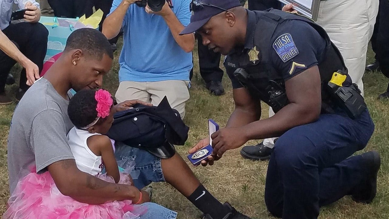 5-Year-Old Girl Fighting Cancer Honored By Tulsa Police