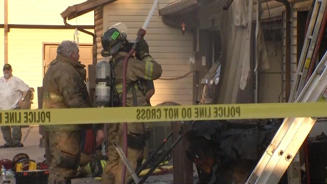 Cause Of Tulsa Condo Fire Ruled Accidential With Juvenile Involved