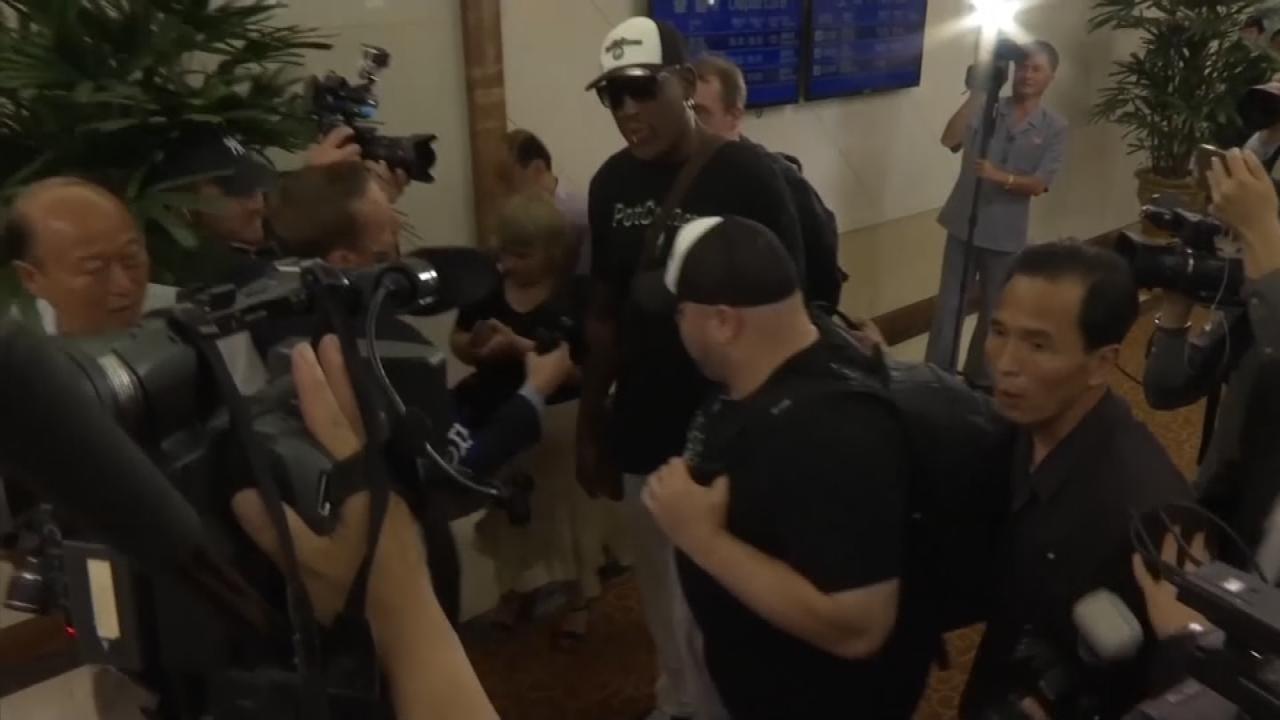 Dennis Rodman Visits North Korea Again