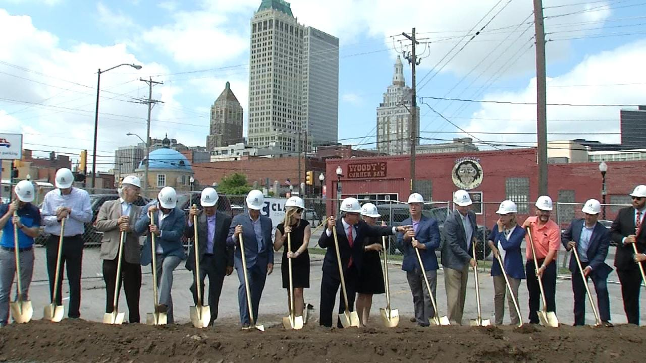 Ground Broken For New Tulsa Hotel