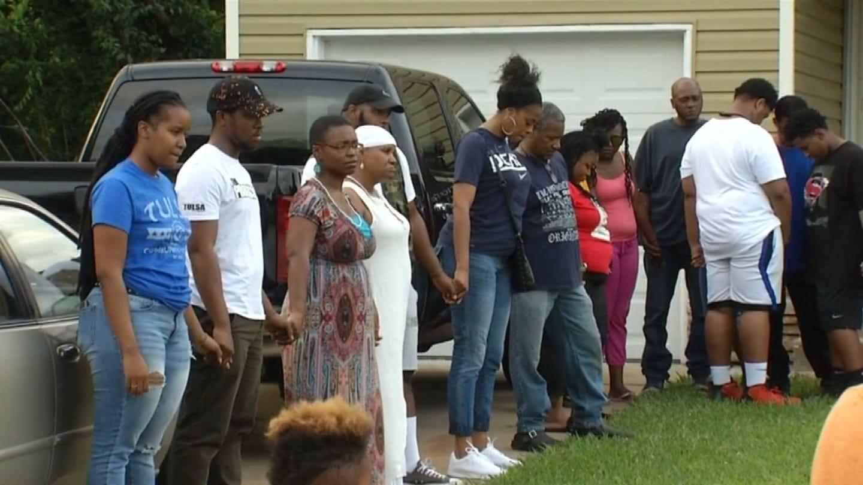 Vigil Honors Joshua Barre, Fatally Shot By Tulsa Law Enforcement