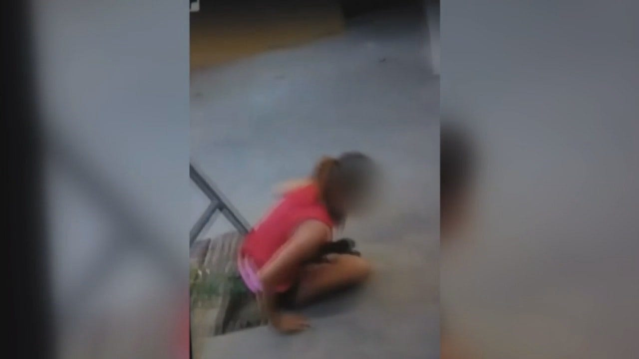 WARNING, DISTURBING: Video Shared On Facebook Shows Violent Beating Of Teen Girl