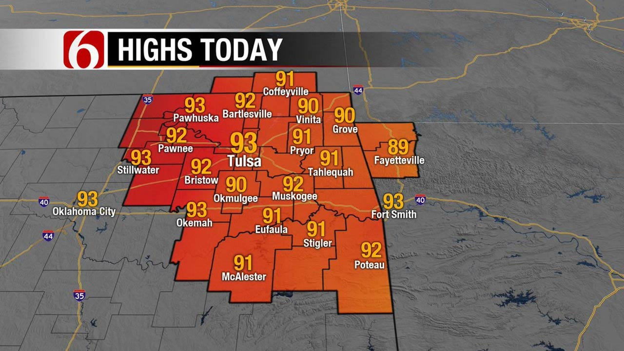 Windy And Muggy Weather Continues For Oklahoma