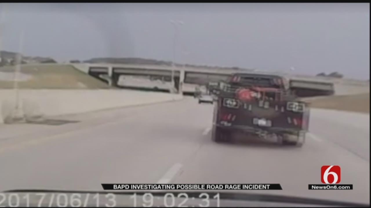 Broken Arrow Police Investigate Road Rage Caught On Camera