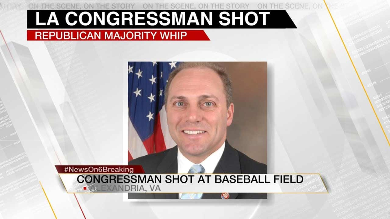 Gunman Opens Fire On Congressional Baseball Practice; Five Wounded
