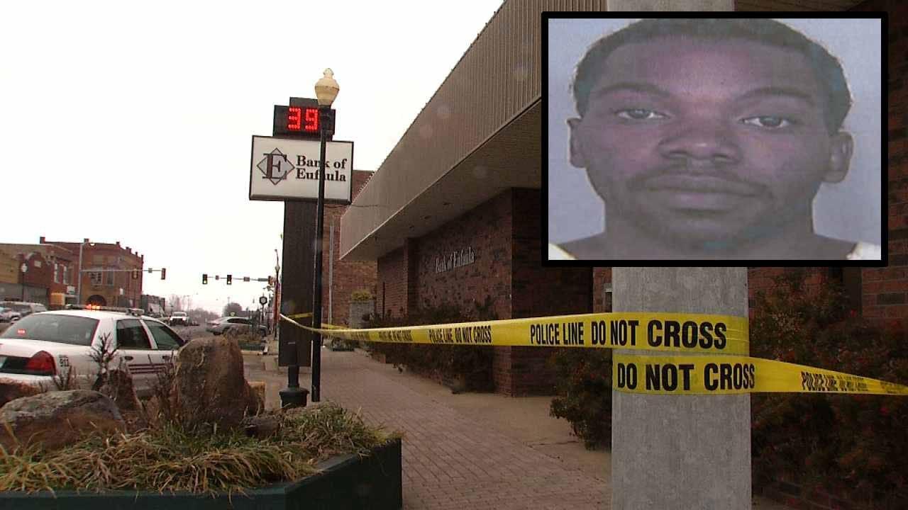 2016 Eufaula Bank Robbery Victims Sue Tulsa, Creek Counties, D.O.C.