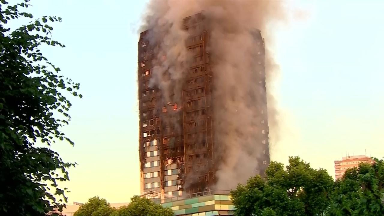 Death Toll In London Apartment Fire Now At 17