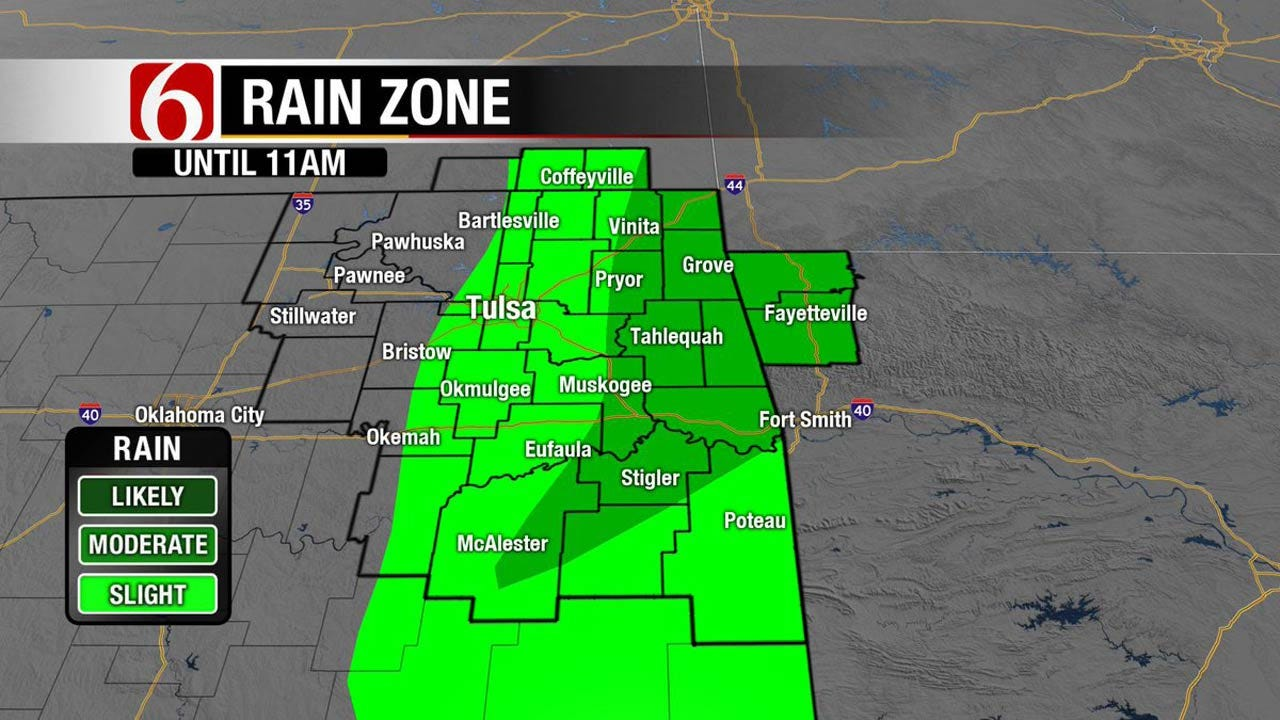 Hot With Storms Possible Across NE Oklahoma
