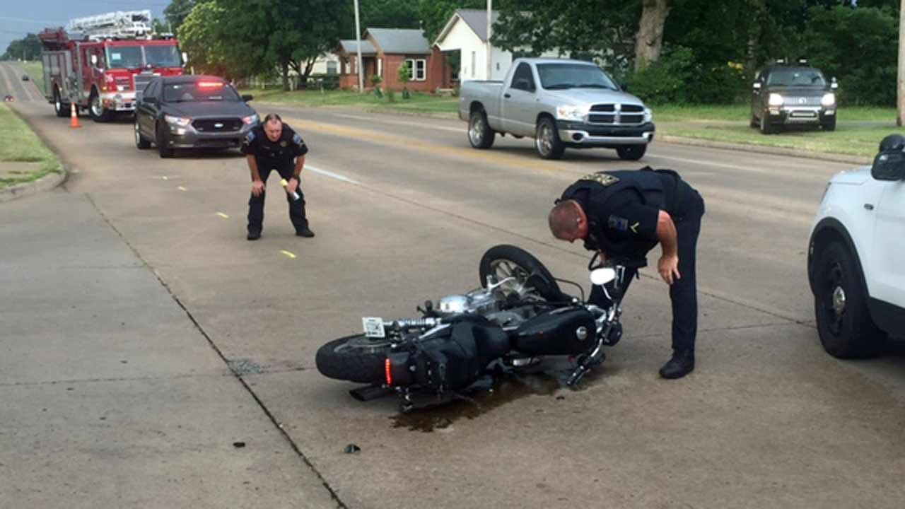 Motorcycle Rider Injured In Tulsa Hit-And-Run Wreck