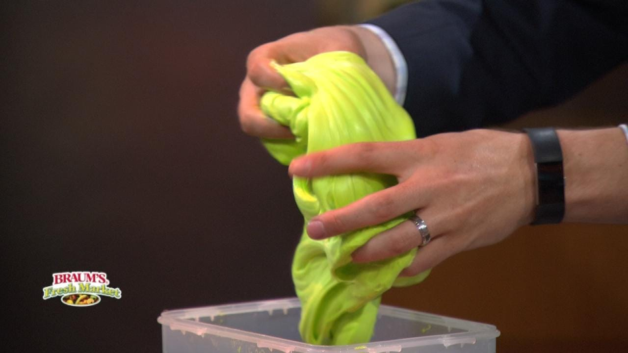 NSU Education Professor's 'Fluffy Slime' Recipe