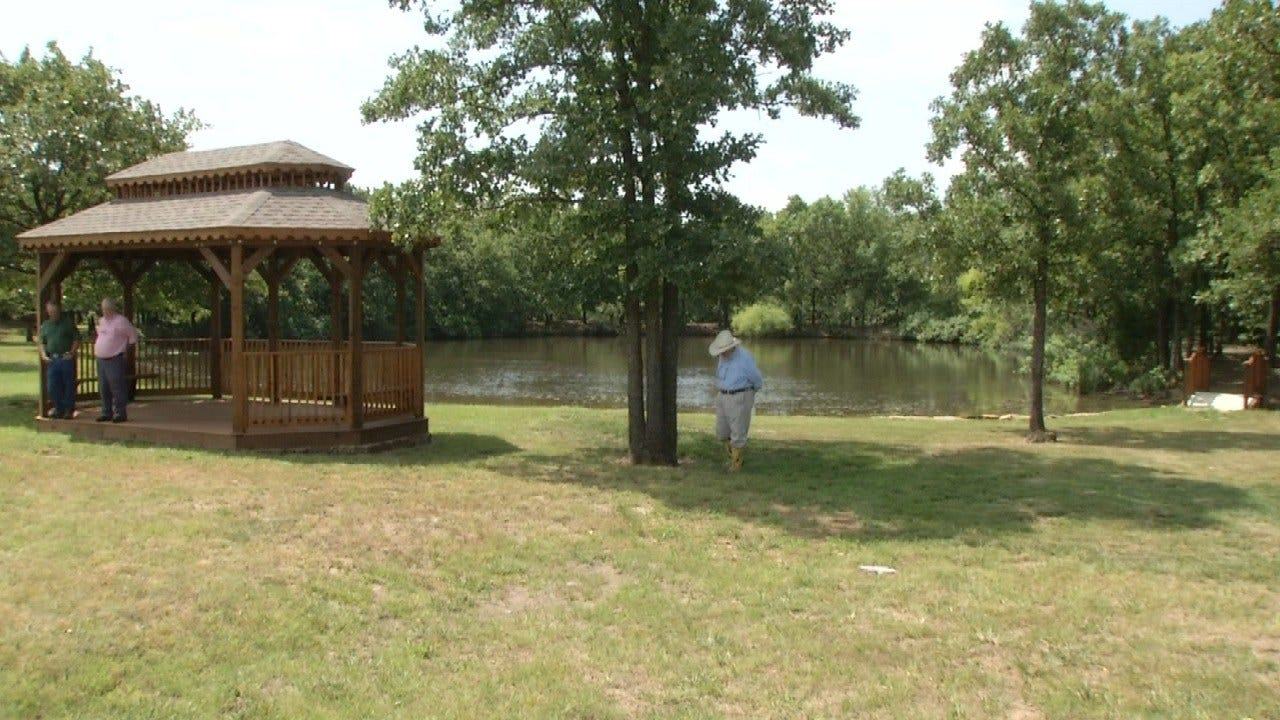 Outdoor Wedding Pavilion One Of Bartlesville's Hidden Gems