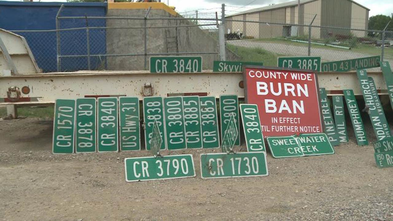 Road Sign Thefts In Coal County An Expensive Problem