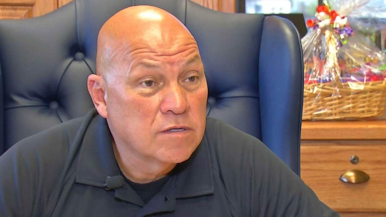 Rogers County Sheriff Scott Walton Recorded Berating Tulsa Officer