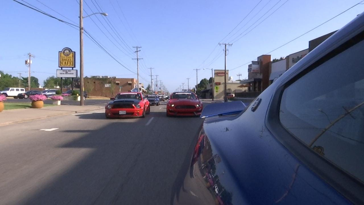 Hundreds Of Ford Mustang, Shelby Enthusiasts Converge On Tulsa