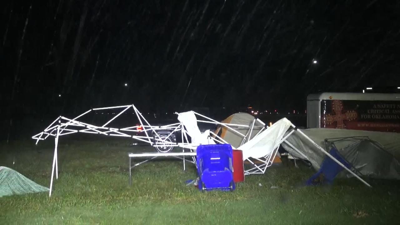 Storms Shut Down Muskogee's G-Fest Late Thursday