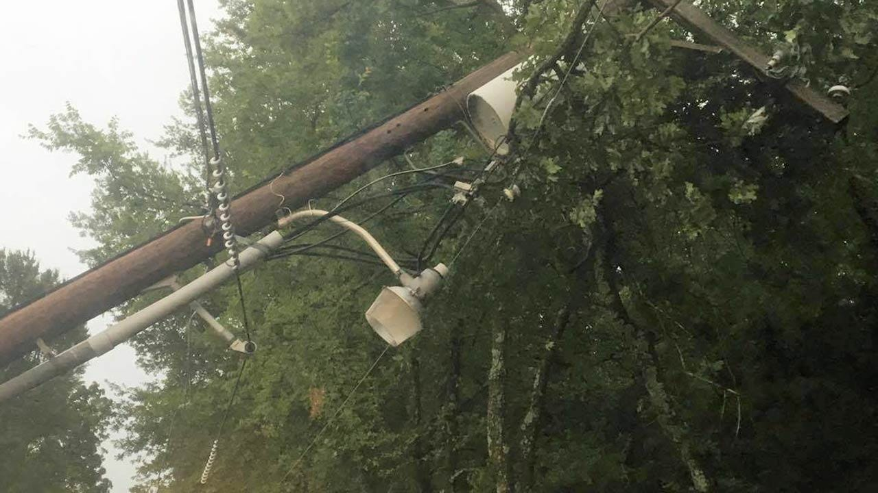 Oklahoma Storms Leave Behind Damage, Knock Out Power