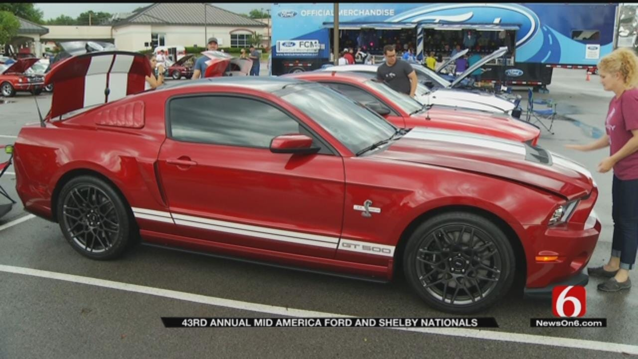 43rd Annual Mid America Ford And Shelby Nationals Wraps Up