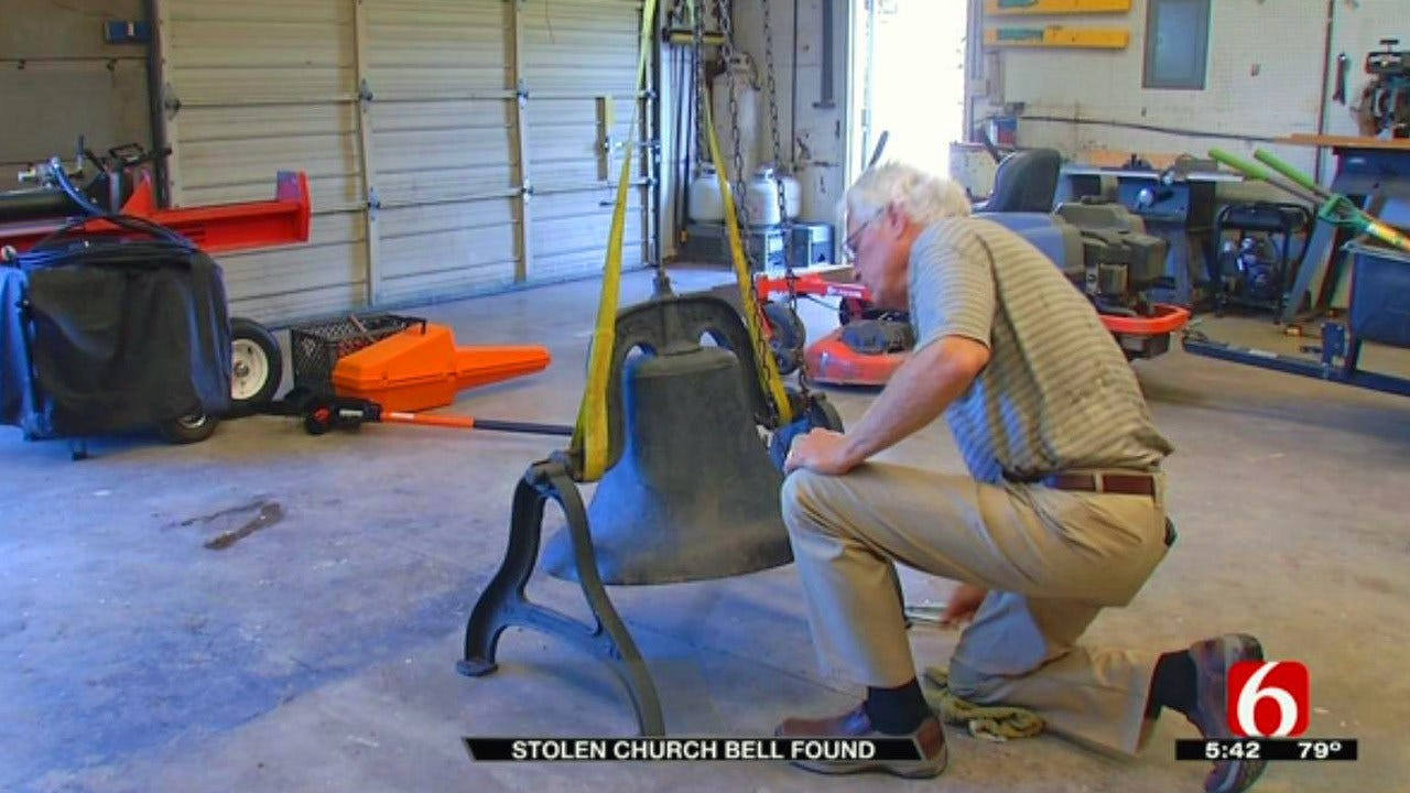 Keystone Baptist Church's Stolen Bell Recovered