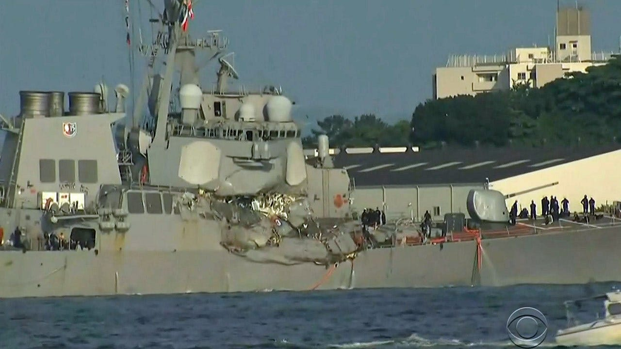 Search For 7 Missing U.S. Navy Sailors Called Off After Bodies Found