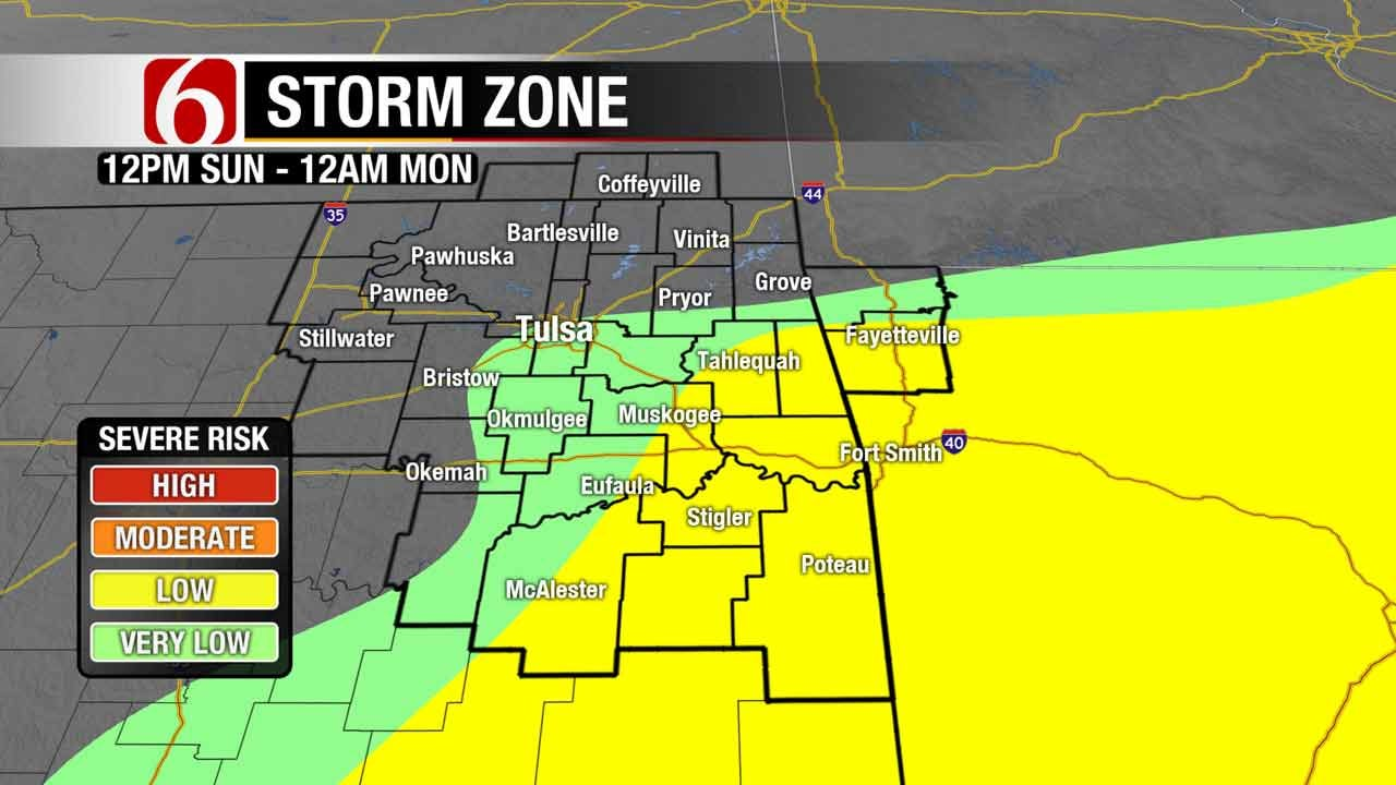 Storms Bring Cooler Air To NE Oklahoma
