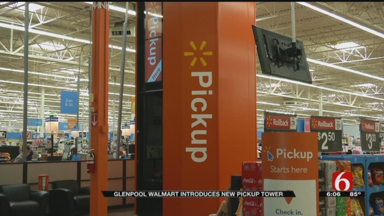 Glenpool Walmart Gets State's First High-Tech Vending Machine