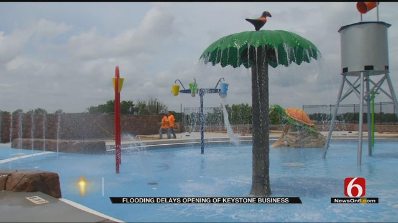 Rainy Season Stalls Completion Of Keystone Lake Water Park
