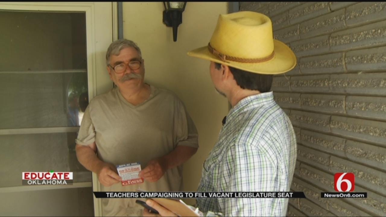 Tulsa Teacher Campaigns For Fellow Teacher Running For State Seat