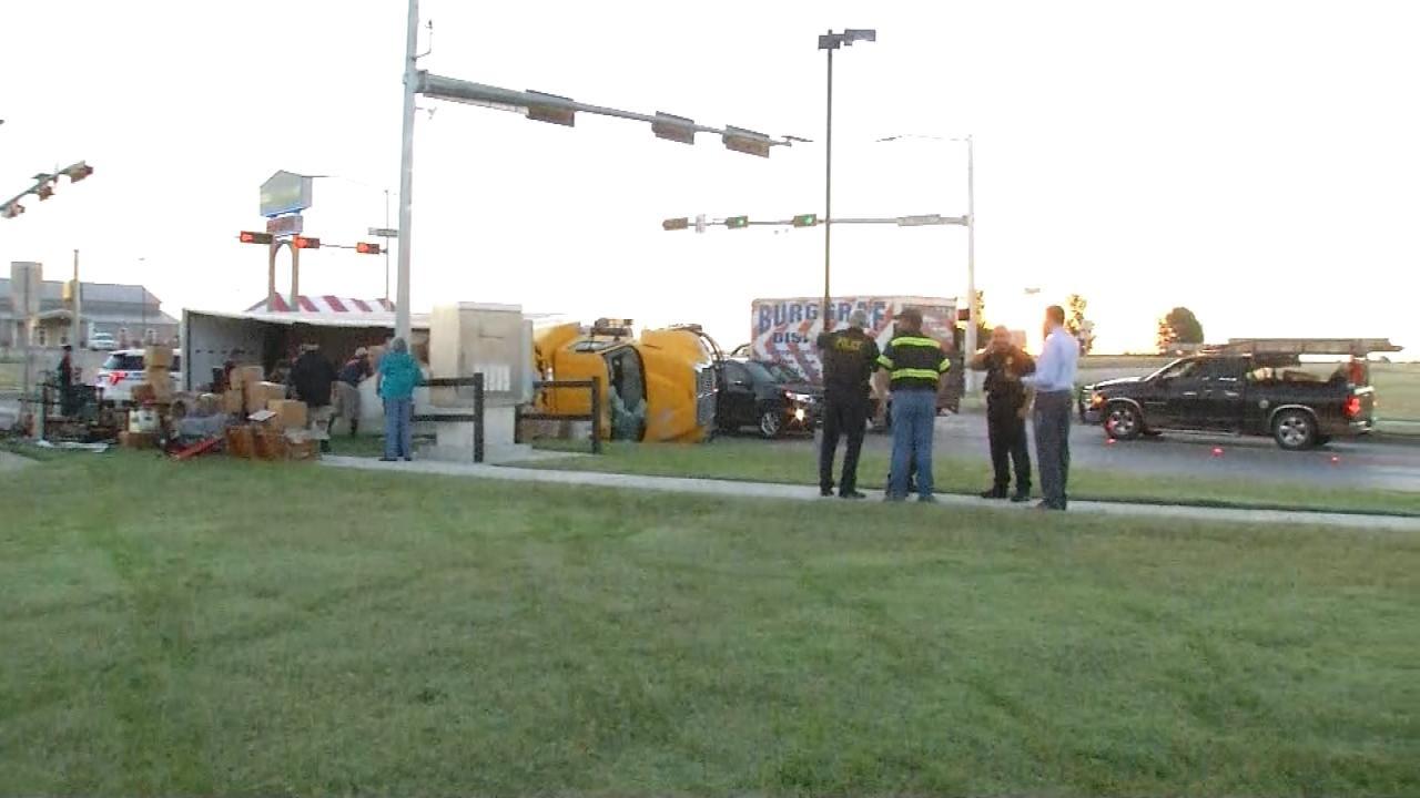 Moving Truck Driver Arrested On DUI Complaint After Owasso Crash