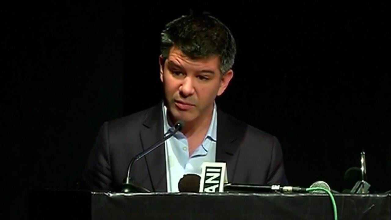 Uber's CEO Travis Kalanick Resigns