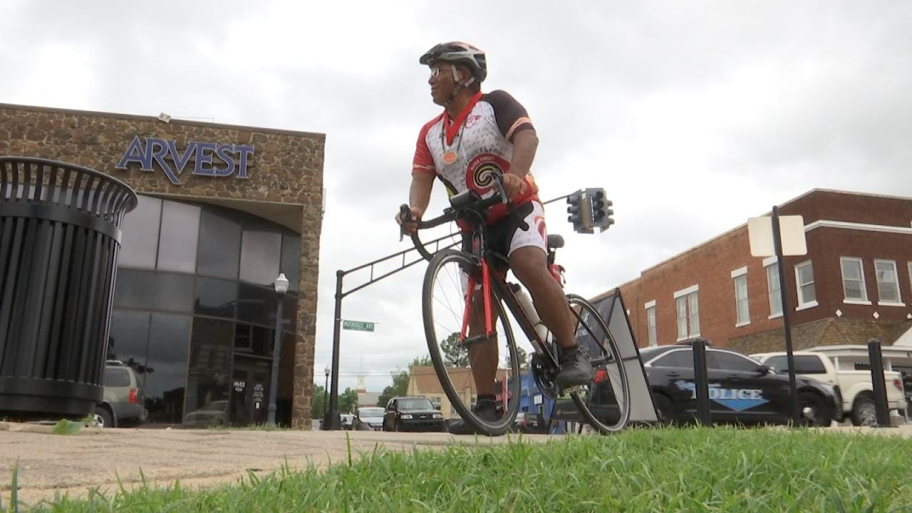 Tahlequah Cyclist Retraces Trail Of Tears For Second Time
