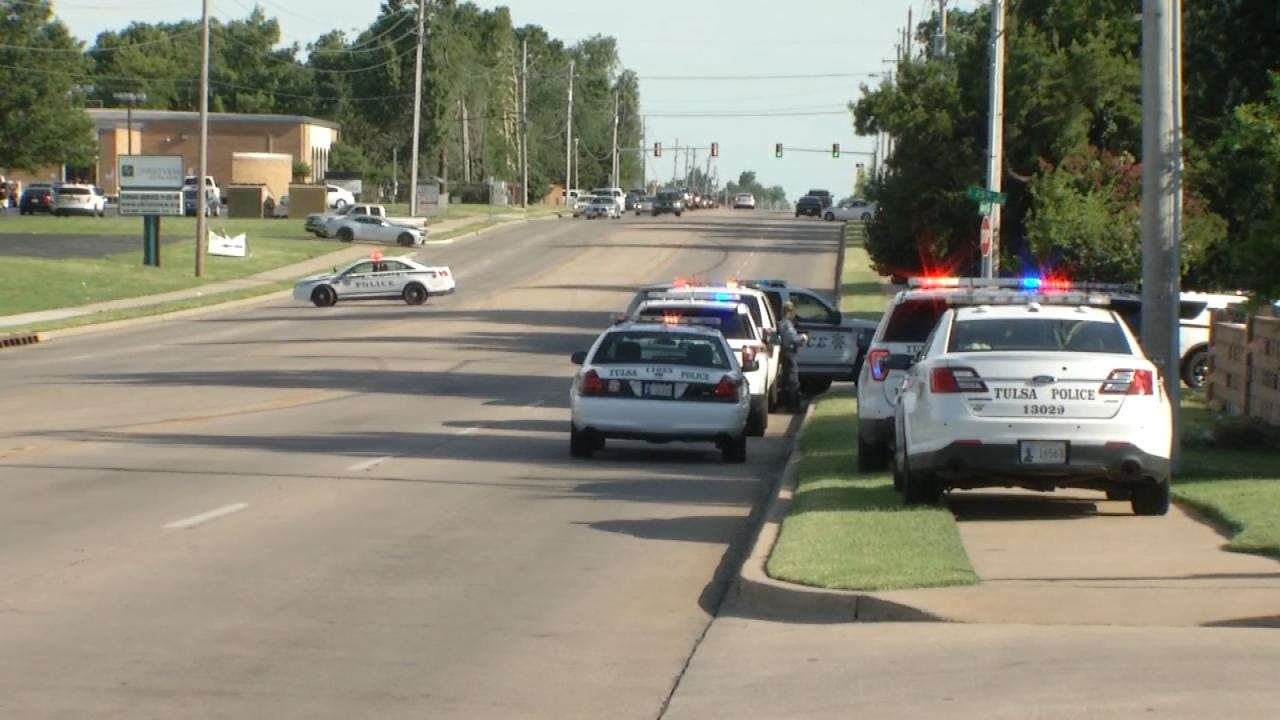 Tulsa Police Standoff Ends Peacefully
