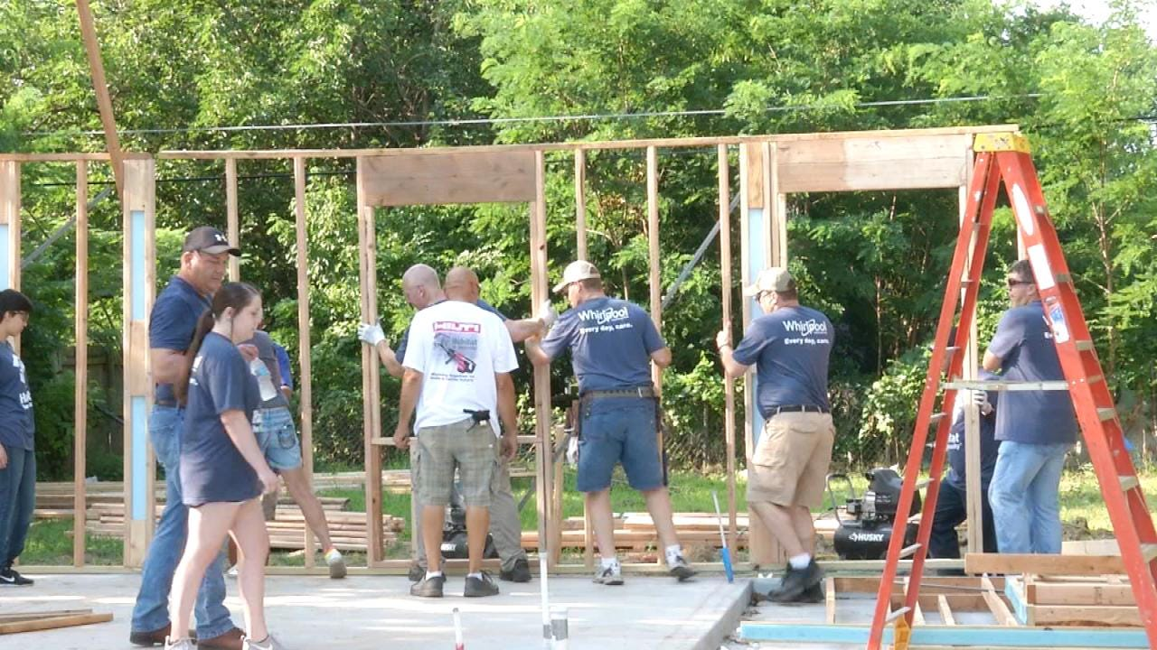 Habitat For Humanity Builds Home For Tulsa Refugee Family