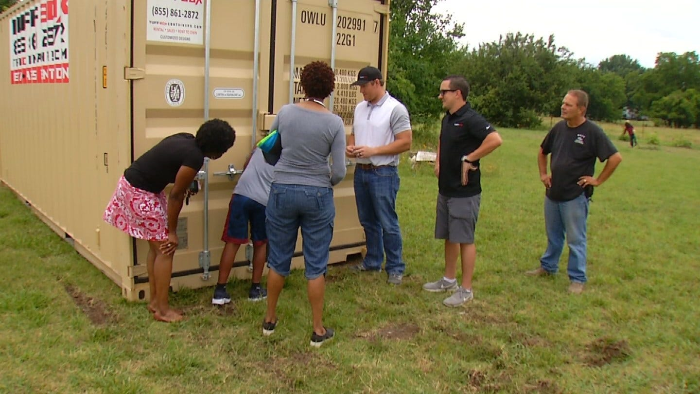 Local Company Steps In After Tulsa Teens' Gardening Equipment Is Stolen