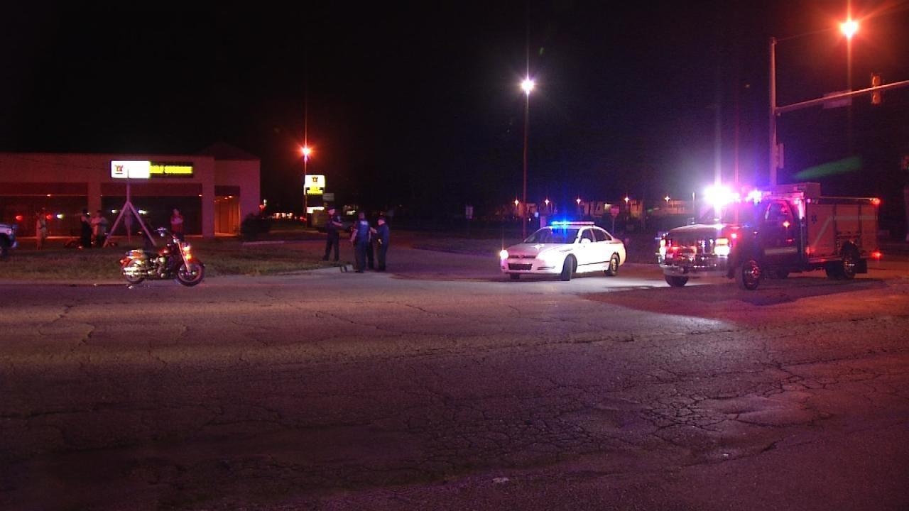 Two Injured In Tulsa Motorcycle Crash