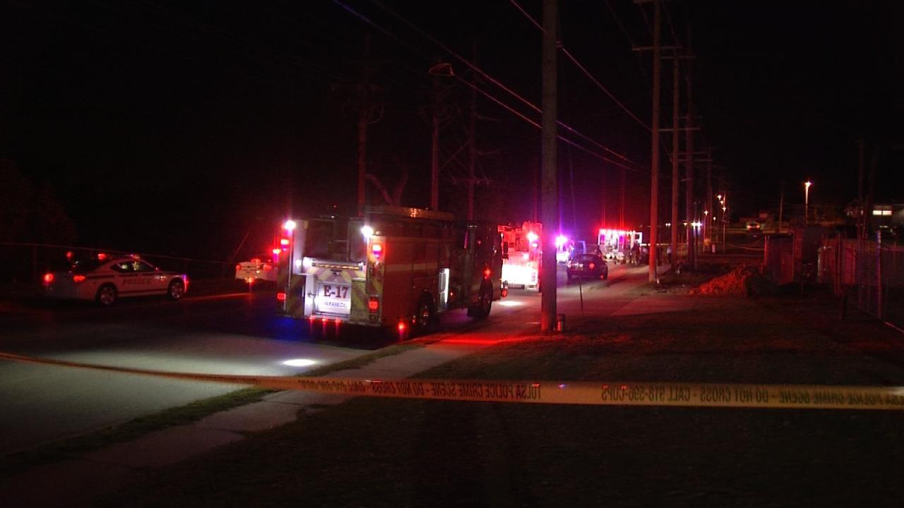Unidentified Man Struck, Killed Crossing Tulsa Street