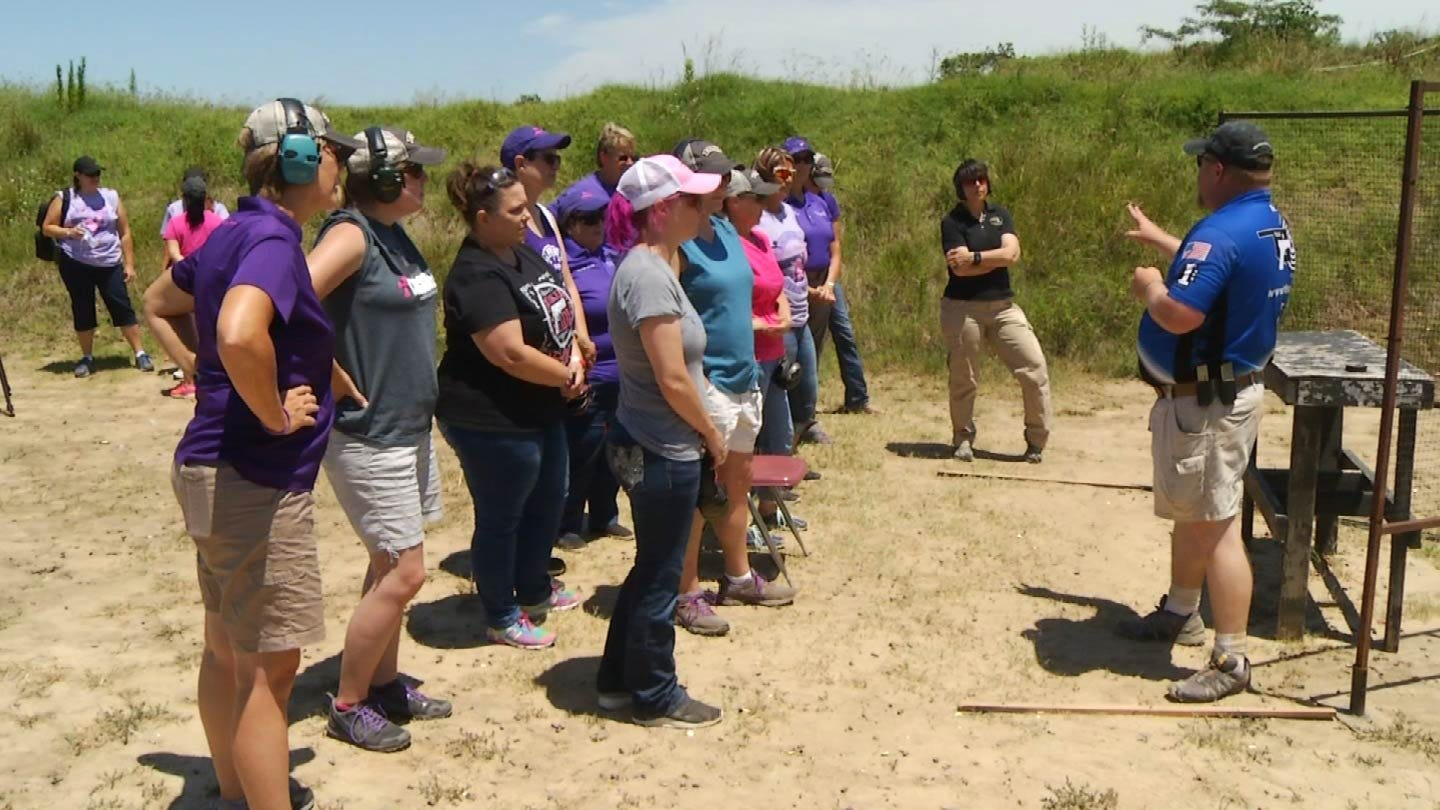 Women Gather In Tulsa For 4th Annual Well Armed Woman Oklahoma State Shoot