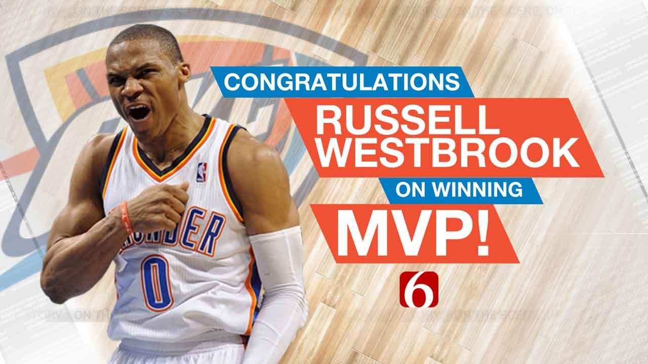 Westbrook Caps Historic Season With MVP Award
