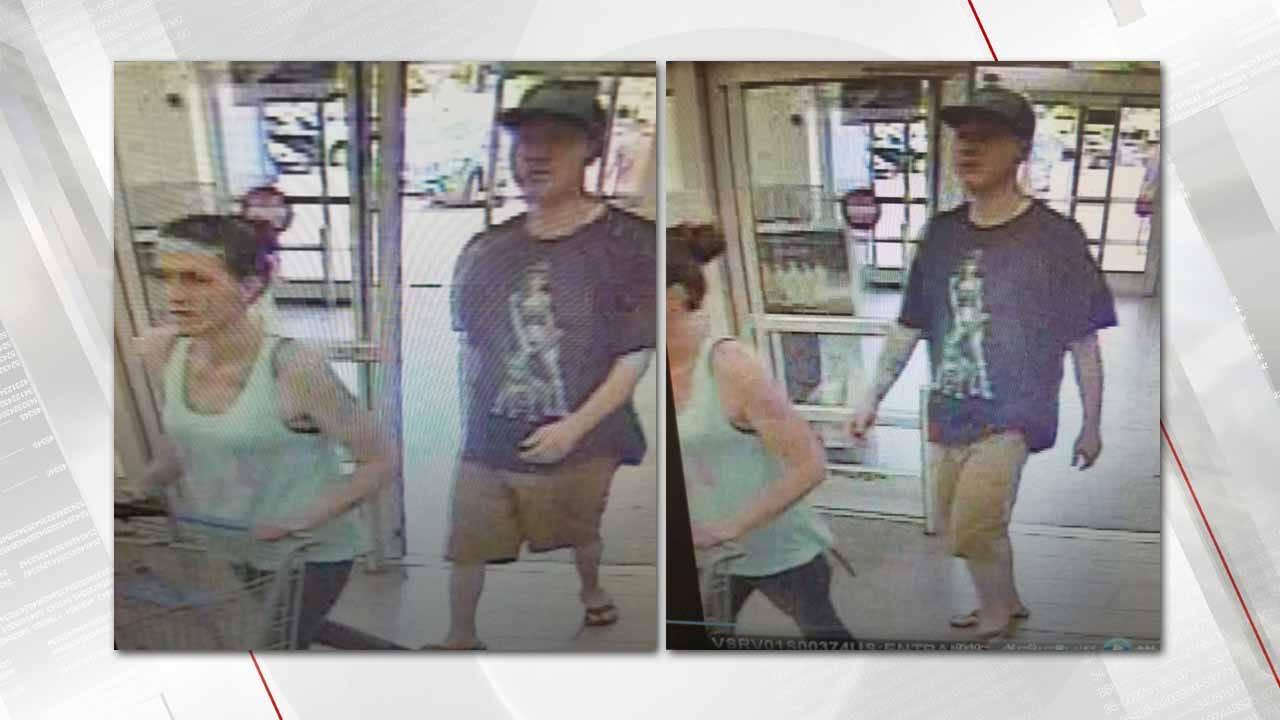 Couple Suspected In Coweta Walmart Electronics Theft