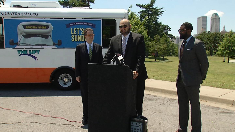 Tulsa Transit Starting Sunday Bus Service This Weekend