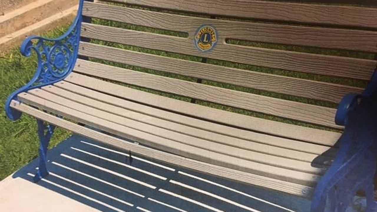 Commemorative Bench Stolen From Route 66 Bridge In Chelsea