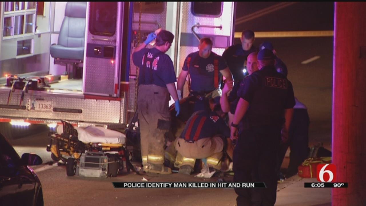 Tulsa Police Seek Help Finding Driver Who Hit Man