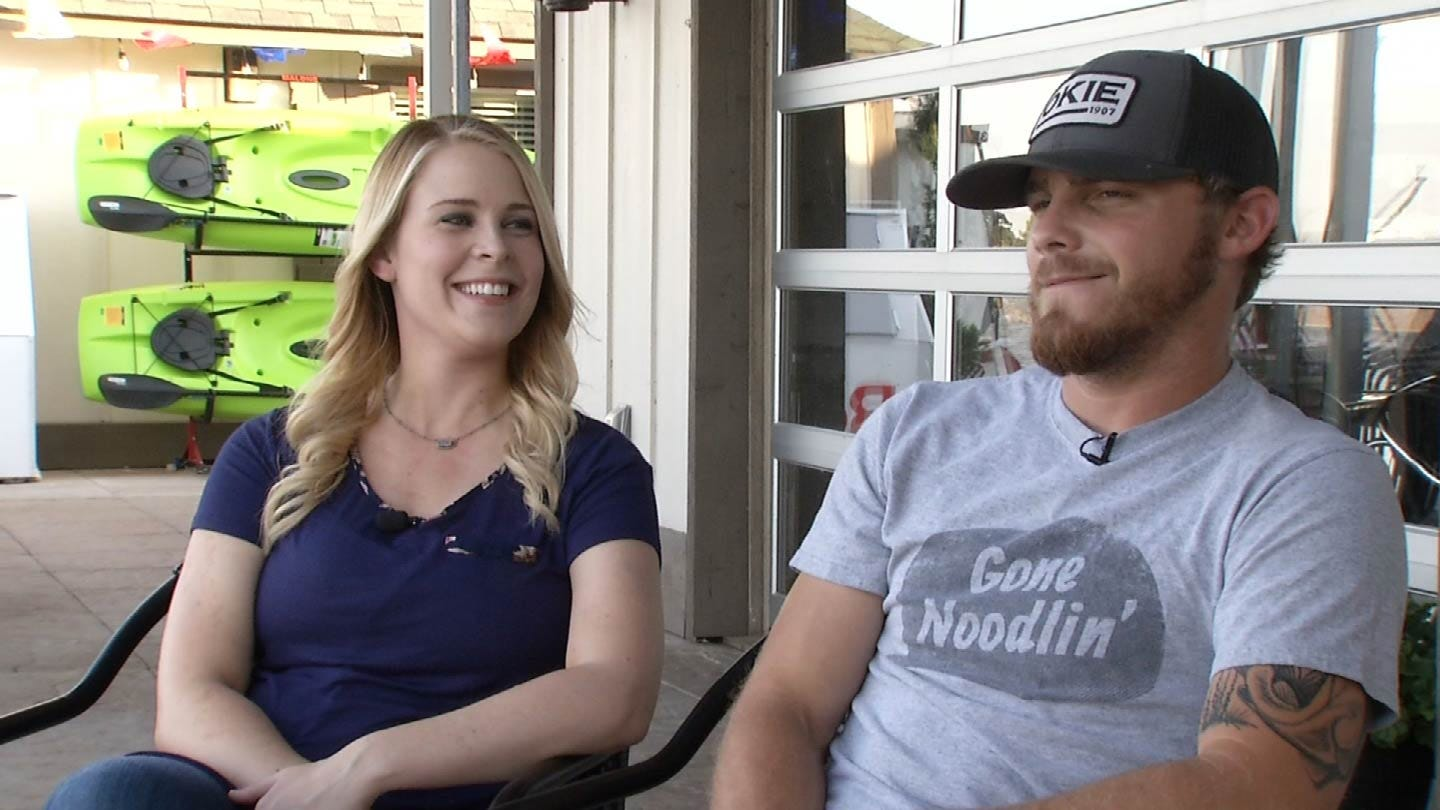 Mannford Couple Talks About Their Viral 'Redneck Reveal'