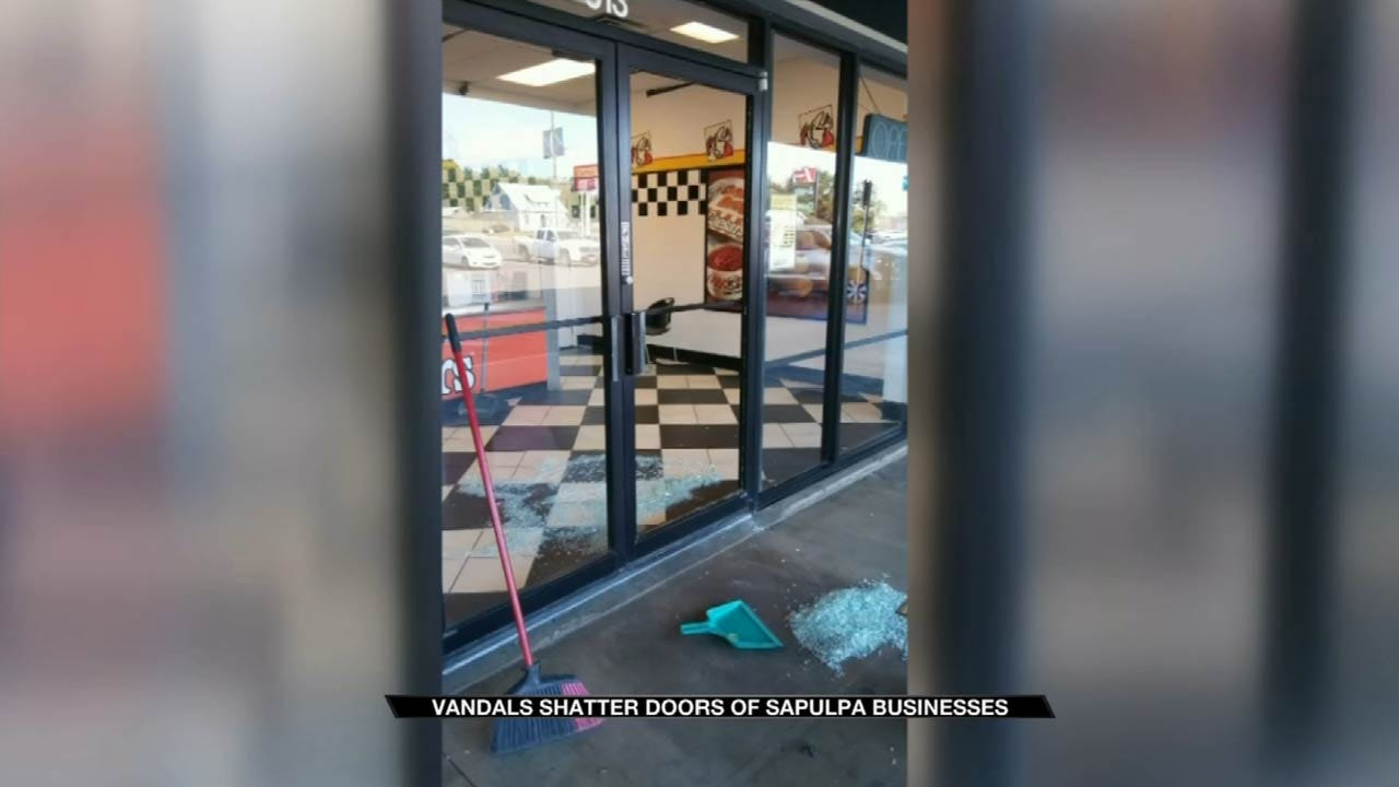 Sapulpa Business Has Message For Vandals Who Destroyed Windows