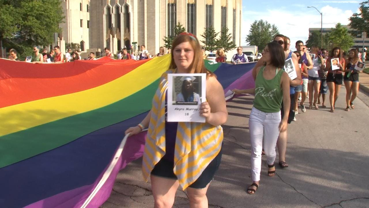 Tulsa Pride Festival Brings Hundreds To Downtown