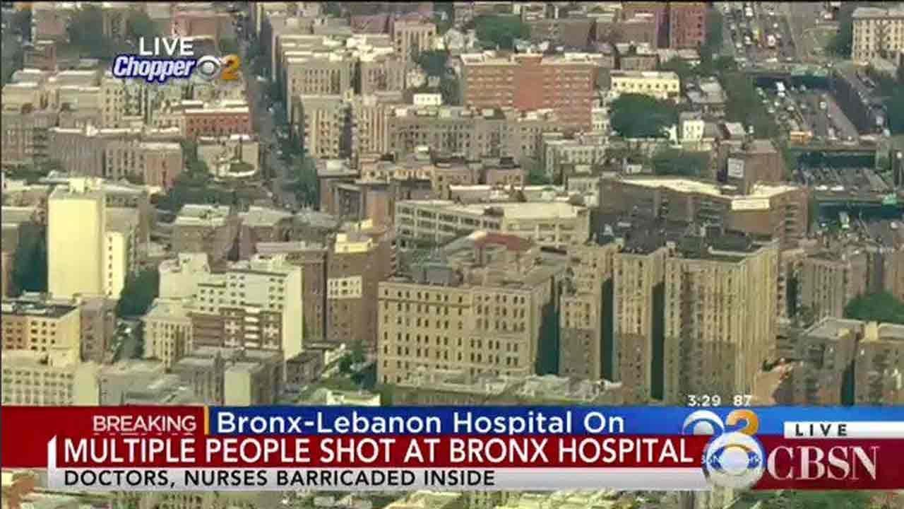 Multiple People Shot At New York's Bronx Lebanon Hospital, Cops Say