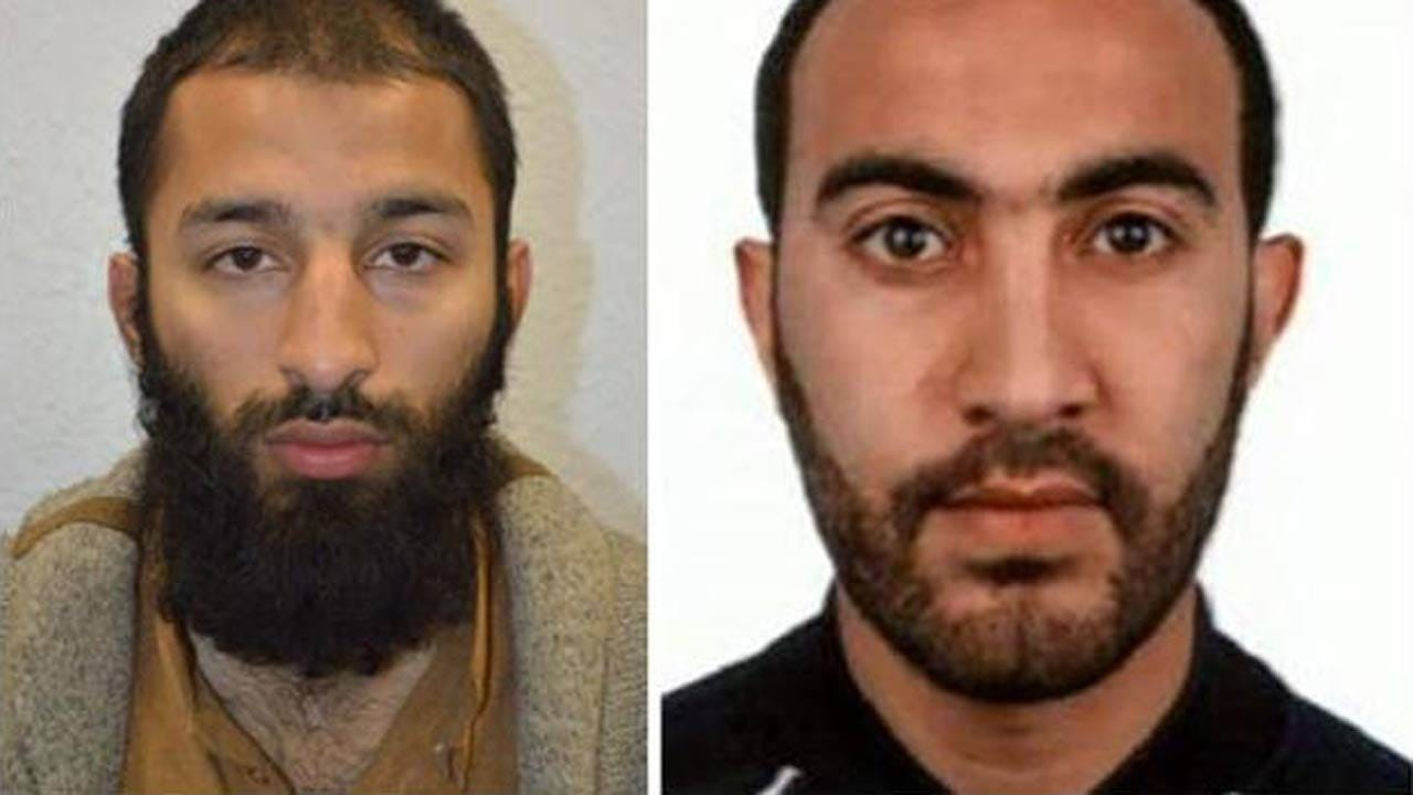 British Police Name London Attack Suspects